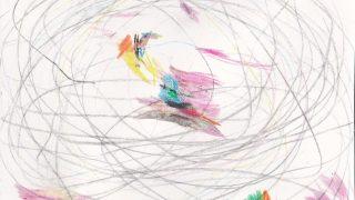 「天才画家あらわる?」くまちゃん・R子の子育て日記(44日目)