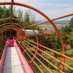 「126mのローラースライダーがある竜北公園(八代・氷川町)で遊ぶ!~立神峡の濡れ女伝説とは・・・?」くまちゃん・R子の子育て日記(89日目)
