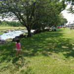 「空いてて穴場かも!?大型遊具があって水遊びもできる、鴨川河畔公園(菊池・七城町)」くまちゃん・R子の子育て日記(101日目)