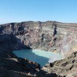 2018年阿蘇山火口見学(Visit to Aso volcano in 2018)|2018年参观阿苏火山|2018年參觀阿蘇火山|2018 년 아소산 분화구 견학|