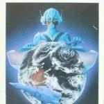 美人画で有名な画家・鶴田一郎氏、若き日のSF小説の表紙イラスト探訪