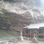 南郷往還の一端、熊本地震で閉ざされた岩戸の滝・岩戸神社への道~2011年に撮った岩戸神社の写真より