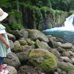 「菊池渓谷で涼をとる」くまとR子の子育て日記(176日目)