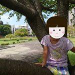 「【江津湖】ちびっこプール(今年4回目)、旧熊本市立体育館跡地広場でちょっと遊ぶ」くまとR子の子育て日記(203日目)